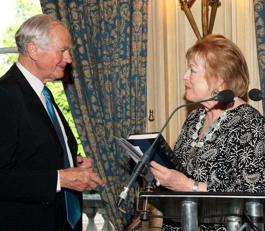 Philip Ziegler and Lady Antonia Fraser Authors Awards 2011