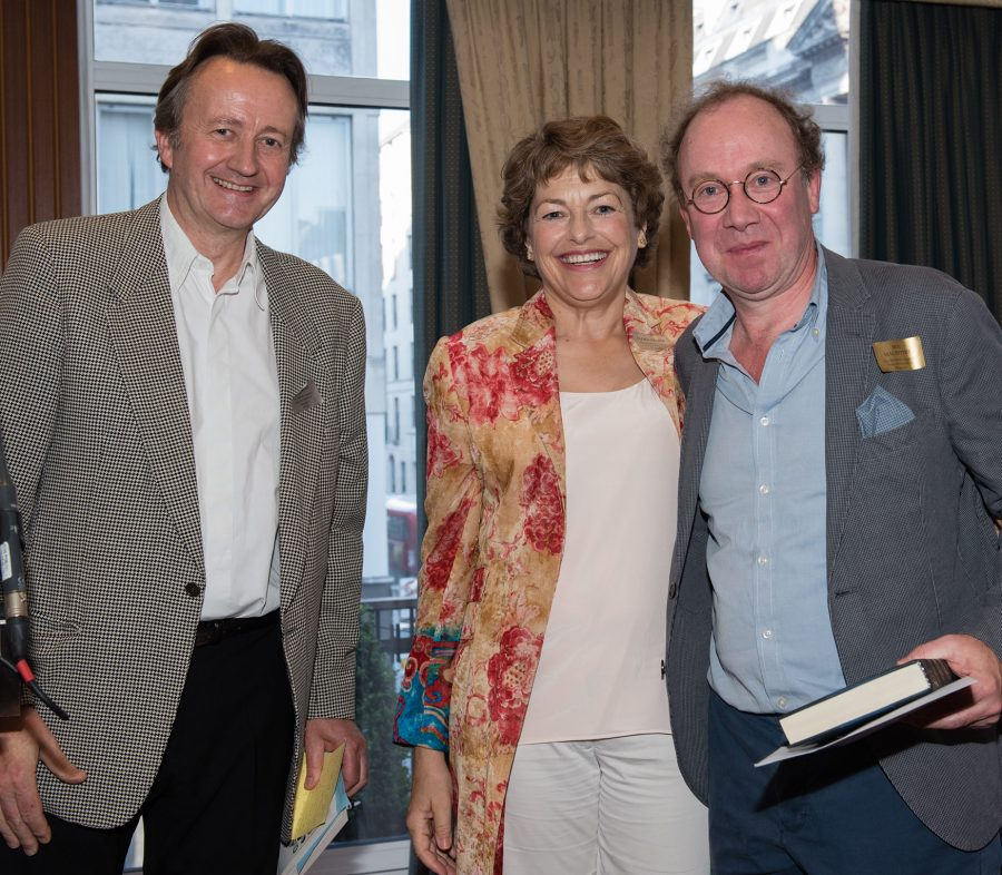 Roy Foster, Flora Fraser and Ben Macintyre at Authors Awards June 2015